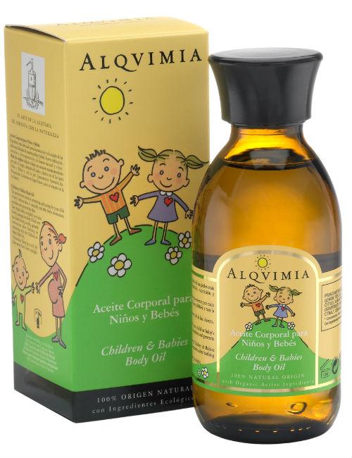 centro de belleza zaragoza ArpelEstetica - ALQVIMIA Children Babies Body Oil-150-w