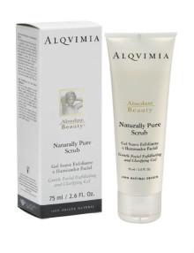Tratamientos de belleza Zaragoza ArpelEstetica - ALQVIMIA Naturally Pure Scrub 75 ml-w